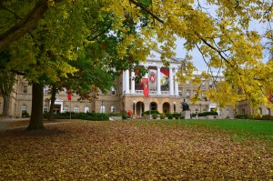 Fall in Madison, WI Bascom Hill